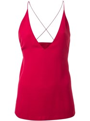 Dion Lee Fine Line Cami Pink And Purple