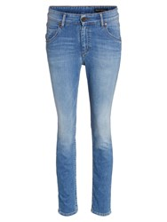Marc O'polo Jeans Theda Left Hand Twill Denim Blue