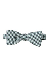 Nicole Miller Check Print Bow Tie