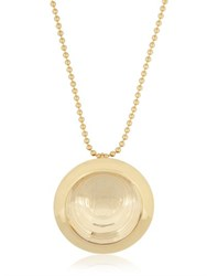 Aygeya Butterfly Medallion Necklace