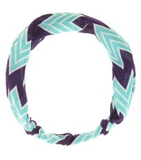 Missoni Mare Crochet Knit Hairband Green