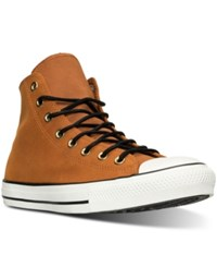 Converse Men's Chuck Taylor All Star Hi Corduroy Casual Sneakers From Finish Line Antique Sepia Egret Black