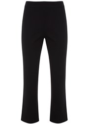 Mint Velvet Black Kick Flare Trouser