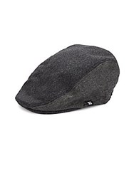 Block Headwear Textured Newsboy Hat Black