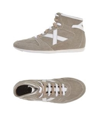 Munich High Tops And Trainers Sand