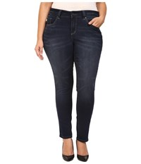 Jag Jeans Plus Size Sheridan Skinny In Dark Star Capital Denim Dark Star Women's Black