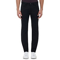 Theory Men's Tech Twill Raffi Jeans Black Blue Black Blue