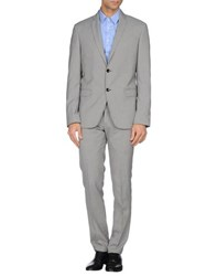 Havana And Co. Suits And Jackets Suits Men Grey