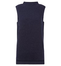 Hobbs Ivy Sleeveless Knit Blue