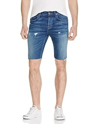 Hudson Hess Distressed Cutoff Shorts In Seabed