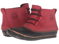 Sorel Out 'N About Leather Gypsy Women's Boots Red