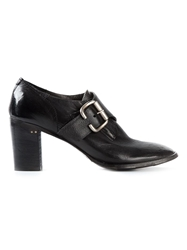 Silvano Sassetti Buckled Ankle Boots Black