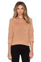 Lovers Friends X Revolve Ashby Sweater Tan