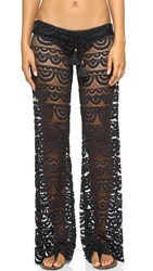 Pilyq Malibu Lace Pants Black