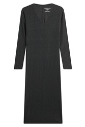 Majestic Midi Dress With Cotton And Cashmere Gr. 1