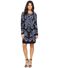 Laundry By Shelli Segal Bell Sleeve Shift Dress Black Women's Dress