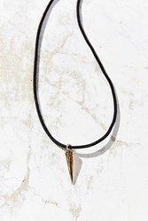 Urban Outfitters Sunny Days Corded Charm Necklace Spike