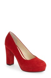 Bettye Muller Women's 'Moon' Platform Pump 4 Heel