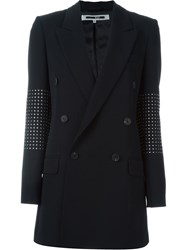 Mcq By Alexander Mcqueen Mcq Alexander Mcqueen Studded Double Breasted Blazer Black