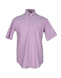 Carlo Pignatelli Shirts Shirts Men Light Purple