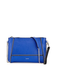 Botkier Soho Zipper Detail Crossbody Bag Cobalt
