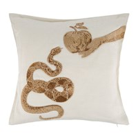 Jonathan Adler Muse Snakes And Apple Cushion