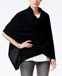 Charter Club Cashmere Oversized Scarf Wrap Only At Macy's Classic Black