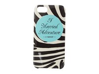 Kate Spade I Married Adventure Phone Case For Iphone 5 Black Cream Cell Phone Case
