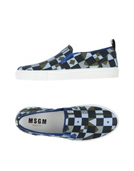 Msgm Footwear Low Tops And Trainers Men Sky Blue