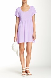American Apparel Babydoll Dress Purple