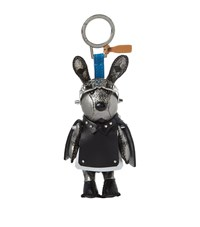 Mcm Rabbit Bag Charm Female Silver