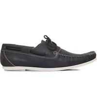 Kg By Kurt Geiger Barry Leather Loafers Black