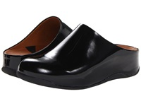 Fitflop Shuv Patent Black Women's Clog Shoes