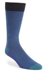 Ted Baker Men's London Stripe Organic Cotton Blend Socks