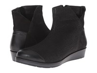 Naot Footwear Loyal Black Crackle Leather Shiny Black Leather Women's Boots