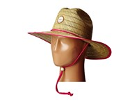 Roxy Tomboy Straw Sun Hat Cherry Caps Red