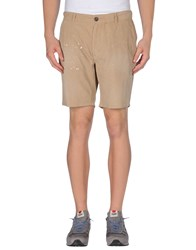 Vintage 55 Trousers Bermuda Shorts Men Sand