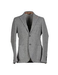 Alviero Martini 1A Classe Suits And Jackets Blazers Men Grey