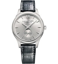Chopard 121968 1001 L.U.C Xps 18Ct White Gold And Leather Watch