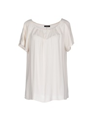 Max And Co. Blouses Ivory
