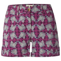 White Stuff Casa Printed Shorts Mexican Purple