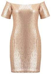 Glamorous Cocktail Dress Party Dress Gold