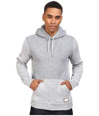 Quiksilver Keller Polar Fleece Hoodie Light Grey Heather Men's Sweatshirt Gray