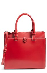 Lodis 'Linda Medium' Satchel Red