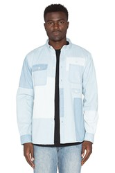 10.Deep Lazarus Workshirt Light Stone Wash