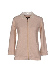 Cristinaeffe Collection Topwear Sweatshirts Women Light Pink