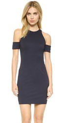 N Nicholas Cutout Shoulder Dress Navy