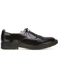Buttero Rubber Sole Derby Shoes Brown