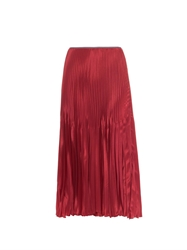Barbara Casasola Pleated Midi Skirt