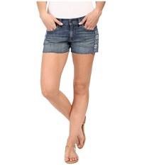 Lucky Brand The Cut Off In Rosewood Rosewood Women's Shorts Red